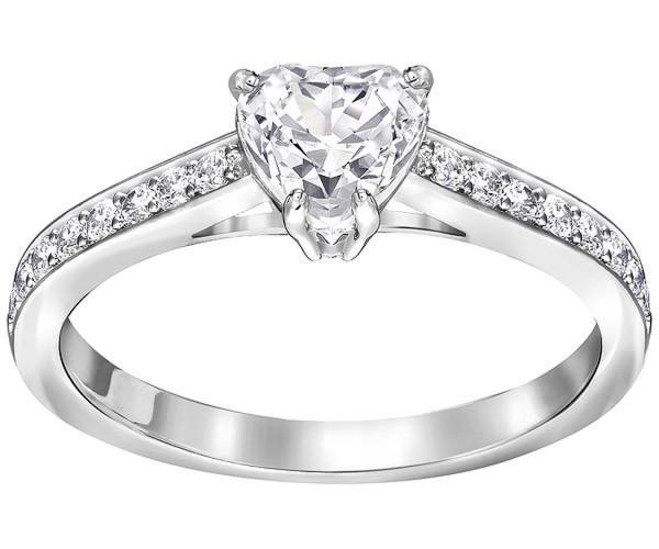 Swarovski Attract Heart Ring 5142736