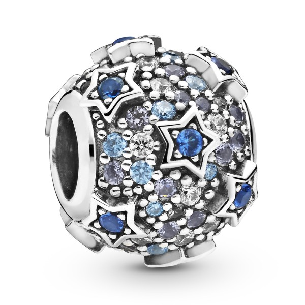 Elevated Stars Pave Stern PANDORA Charm 925er Sterlingsilber 798467C01