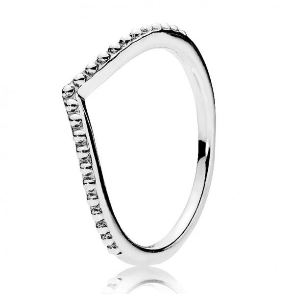 PANDORA Perlenförmiger Wunsch Ring 196315