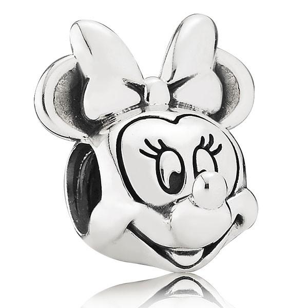 PANDORA Disney Minnie Portrait Charm 791587