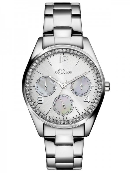 s.Oliver Damen-Armbanduhr SO-3063-MM