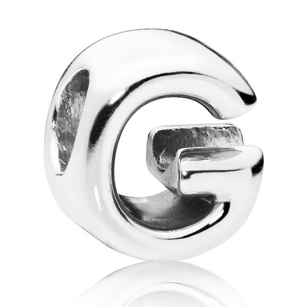 PANDORA Buchstabe Letter G silver charm 797461