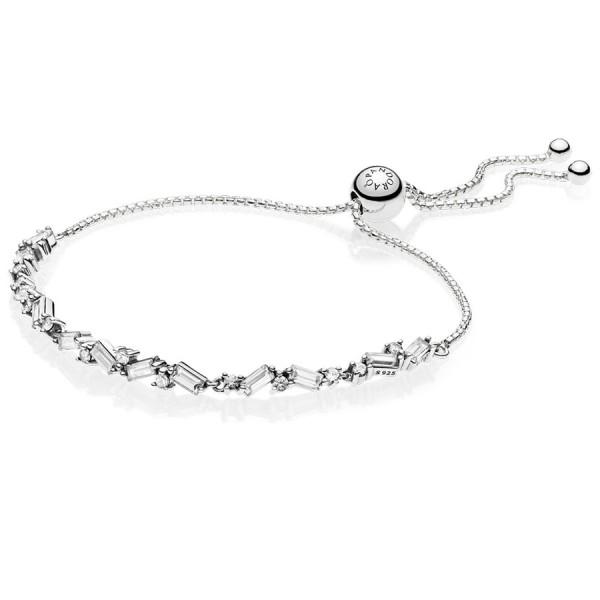 Eiswürfel PANDORA Armband Ice cube silber bracelet 597558CZ
