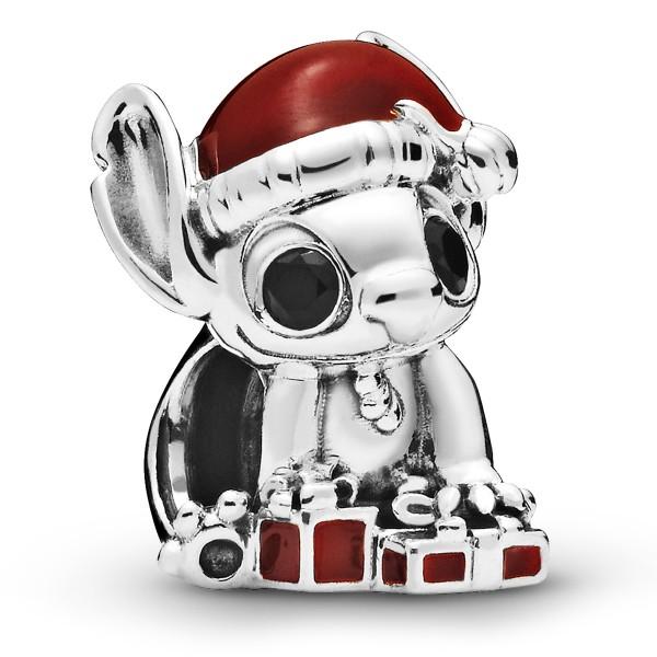 Disney Stitch Christmas PANDORA Charm 925er Sterlingsilber 798452C0