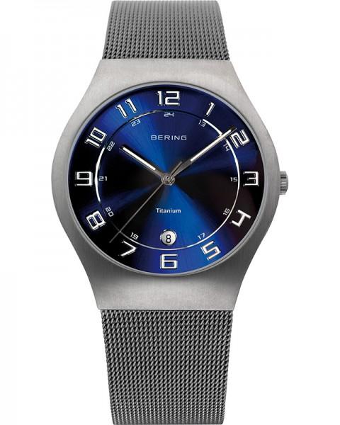 Bering Classic Titanium 11937-078 Herrenuhr