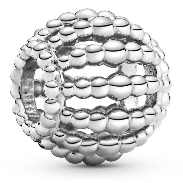 Offen gearbeitetes Metallperlen PANDORA Charm 798679C00