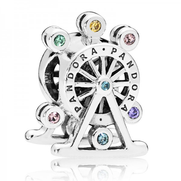 PANDORA Colour Wheel Charm 797199NLCMX