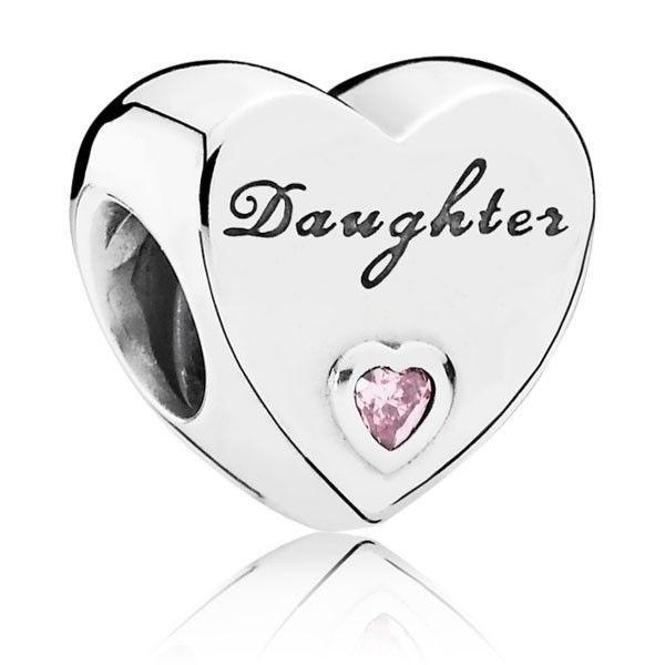 PANDORA Charm Daughter-Herz 791726PCZ