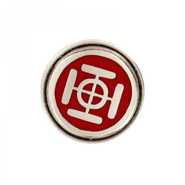 Noosa Chunk Silber-rot CRV-183-01
