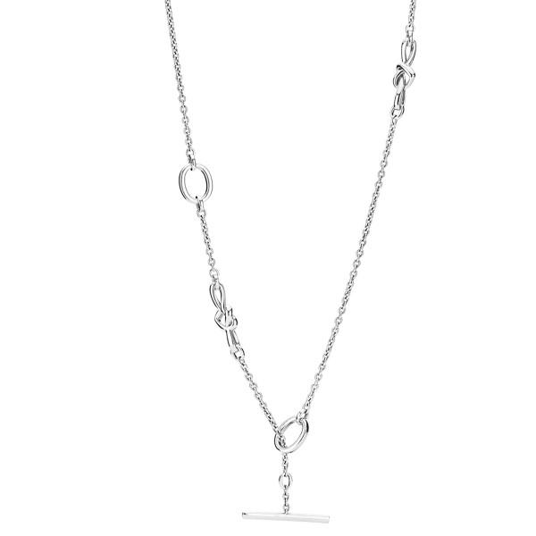 Knotted Hearts Necklace PANDORA Halskette 398080