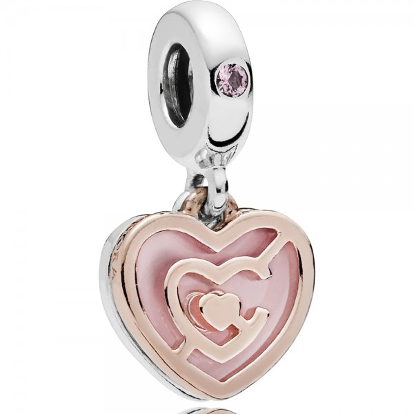PANDORA Charm-Anhänger Path to love 787801NBP