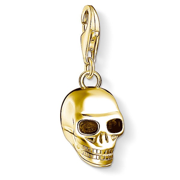 Generation Charm Club Totenkopf gold 1549-413-39