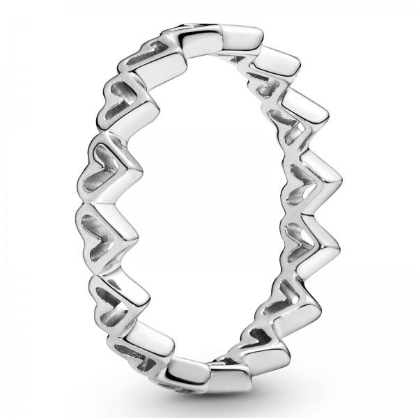 Freihand-Herzen PANDORA Ring 198696C00