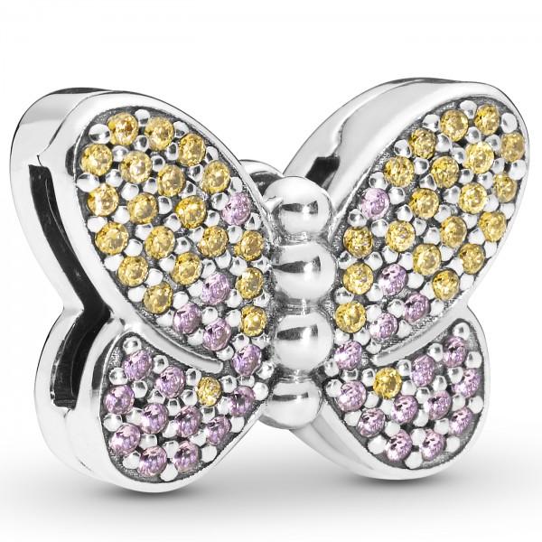 Bedazzling Butterfly Clip PANDORA REFLEXIONS 797864CZM
