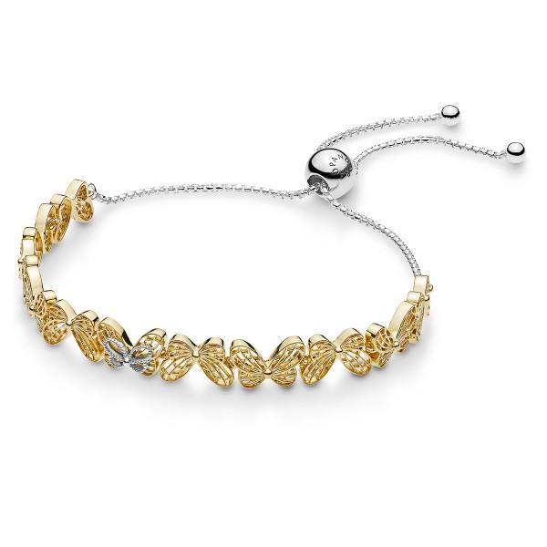 Openwork butterfly Shine Armband Pandora 567957
