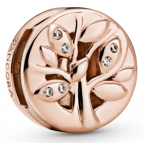 Funkelnder Familienstammbaum PANDORA ROSE Reflexions Clip Charm 788822C01