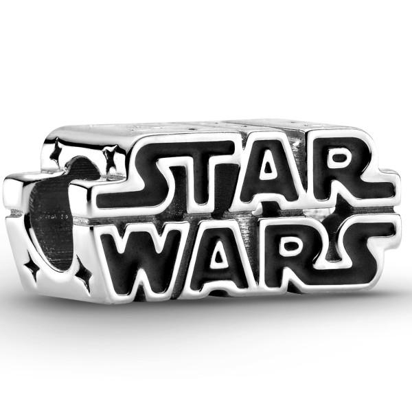 Star Wars Krieg der Sterme 3D-Logo PANDORA Charm 925er Sterlingsilber 799246C01