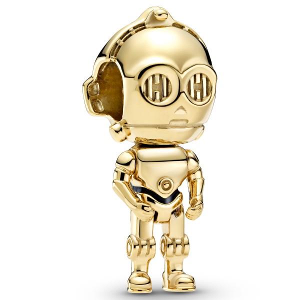 C-3PO Star Wars Krieg der Sterne PANDORA SHINE Charm 769244C01