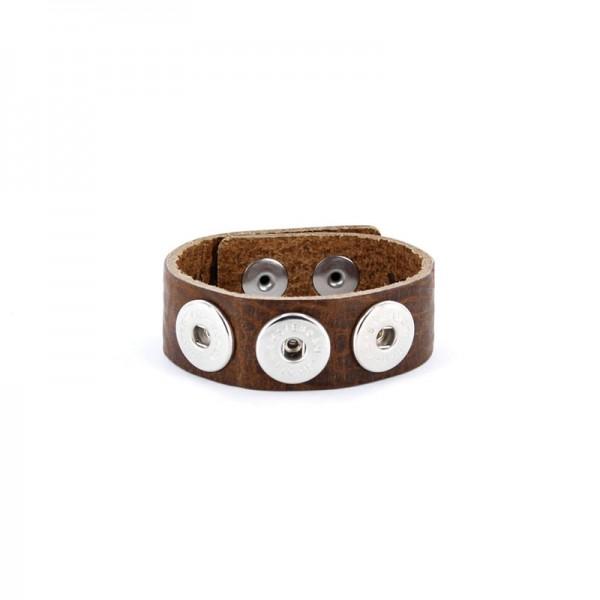 Noosa Armband braun WCS-050-02-22