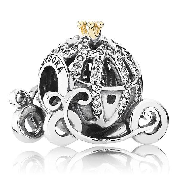 PANDORA Disney Cinderellas Kutsche Charm 791573CZ
