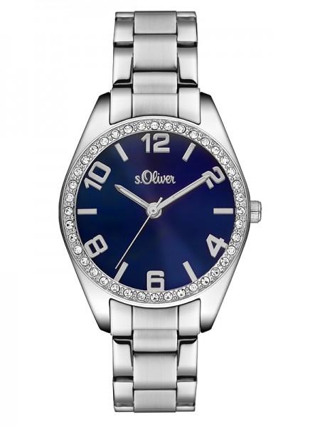 s.Oliver Damen-Armbanduhr SO-3152-MQ