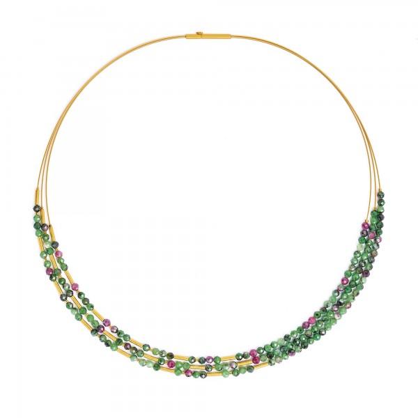 85233086 Clini Designlinie Cleopatra Collier und 24 Karat Goldplattierung