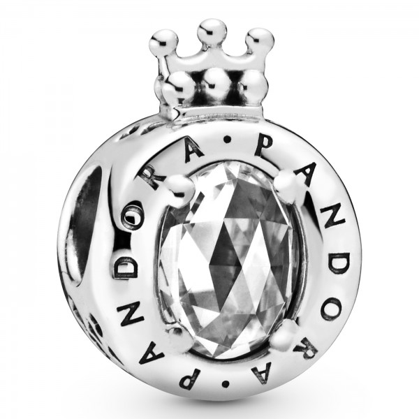Clear Sparkling Crown O PANDORA Charm 798266CZ
