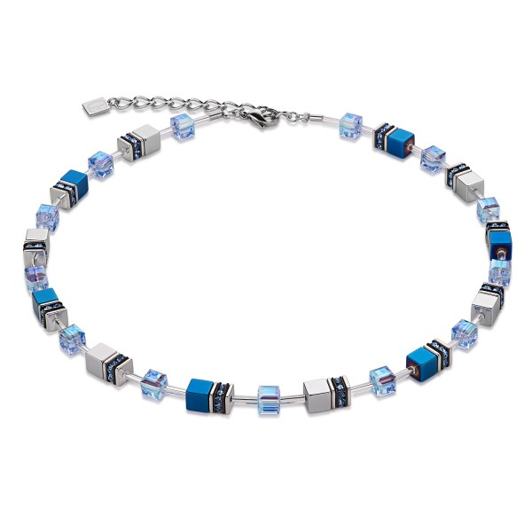 Geo Cube Collier blau 4015100700