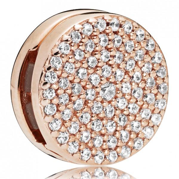 Dazzling Elegance Clip PANDORA REFLEXIONS ROSE Charm 787583CZ