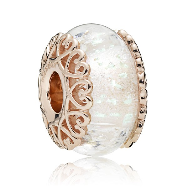 PANDORA Rose Charm Murano Glas 787576