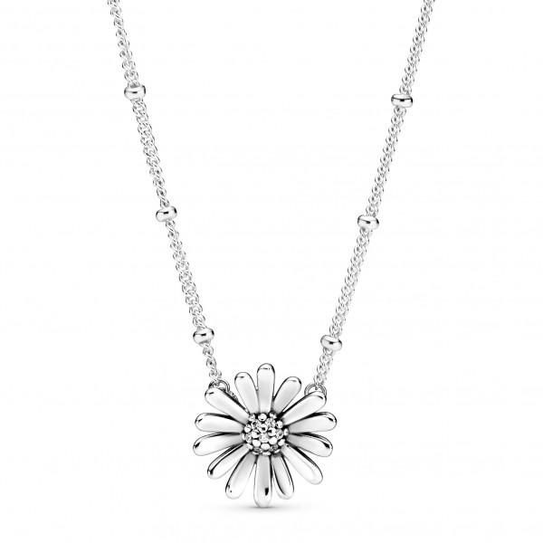 Pavé Gänseblümchen PANDORA Collier-Halskette 398964C01