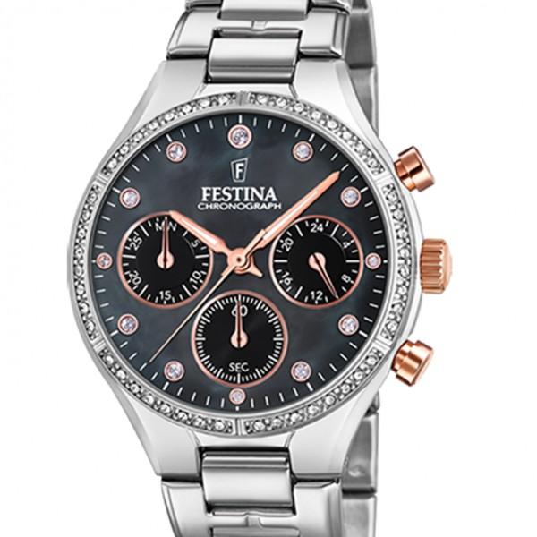 Festina Chronograph mit kleiner Sekunde Chrono Lady F20401/4
