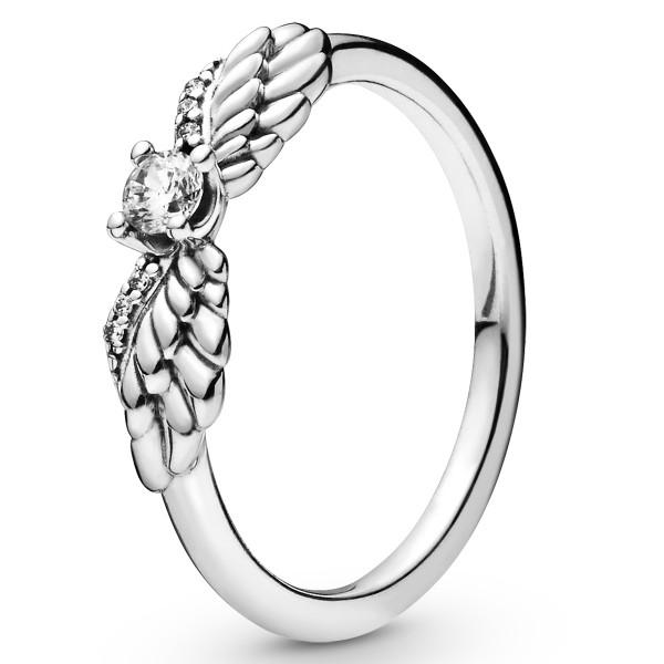 Sparkling Angel Wings PANDORA Ring 925er Sterlingsilber 198500C01