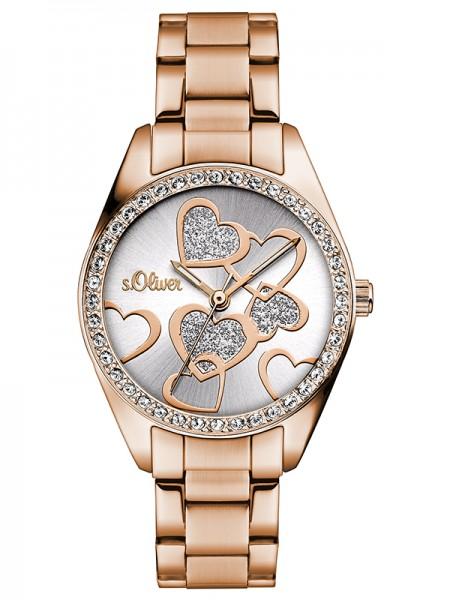s.Oliver Damen-Armbanduhr SO-3140-MQ