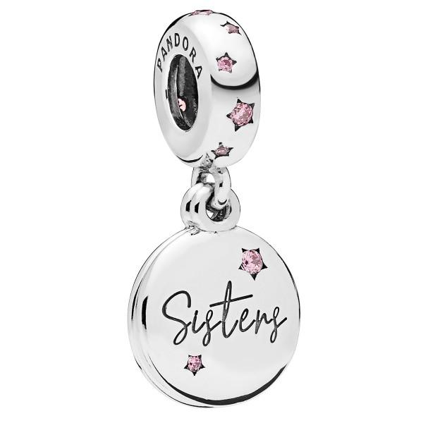 Forever Sisters Für immer Schwesterns Pandora Charm Anhänger 798012FPC