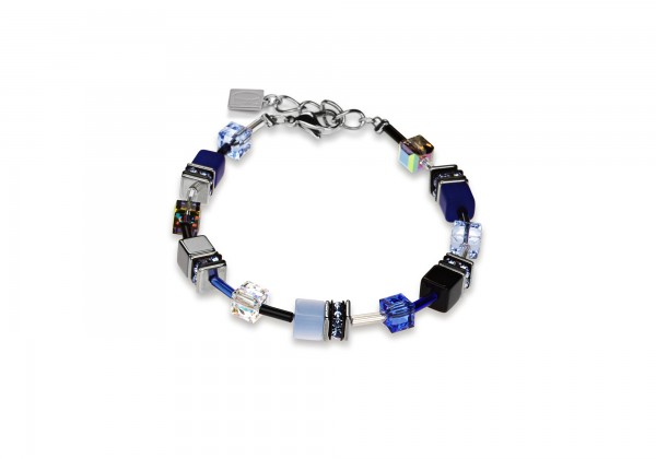 Coeur De Lion Geo Cube Armband kobaltblau 4014300712