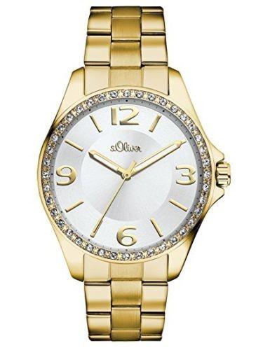 s.Oliver Damen-Armbanduhr SO-2966-MQ