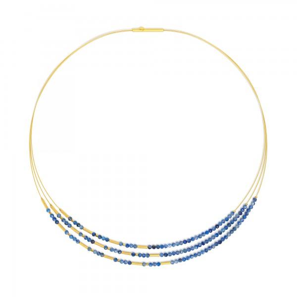 85233796 Clini Designlinie Cleopatra Collier und 24 Karat Goldplattierung