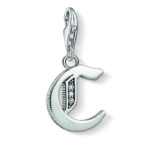 Thomas Sabo Buchstaben Charms A bis Z in 925er Silber