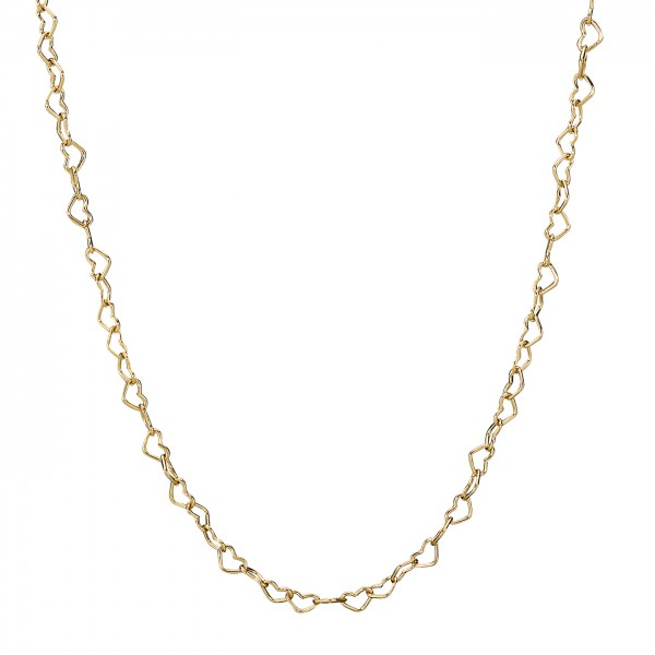 Joined Hearts Necklace PANDORA SHINE Halskette 367961-60