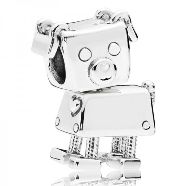 Roboterhund PANDORA Charm Robot dog silver charm 797551EN12