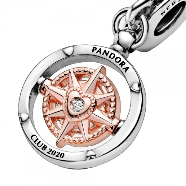 Pandora Club 2020 Kompass PANDORA ROSE Charm-Anhänger 788590C01