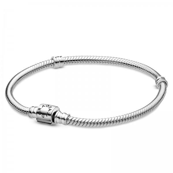 Schlangen-Gliederarmband mit Zylinder-Verschluss PANDORA Armband 598816C00-15