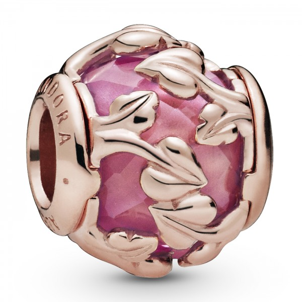Pink Decorative Leaves PANDORA ROSE Charm 788238SSP