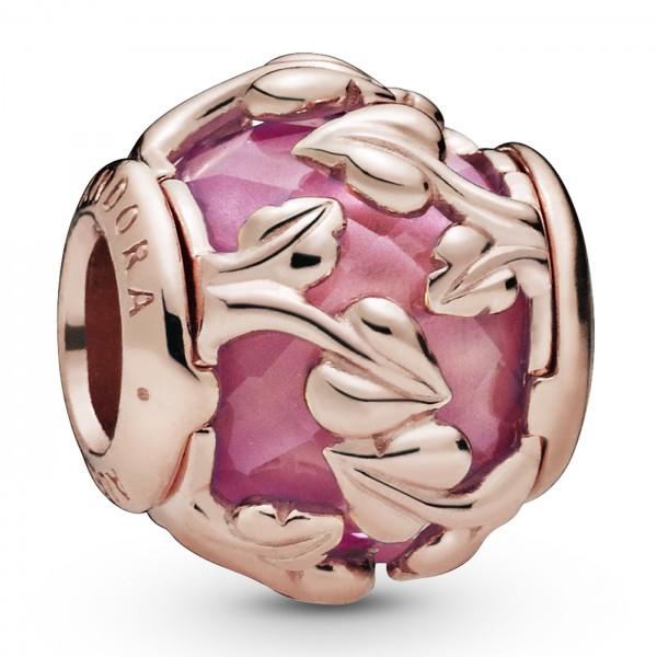 Pink Decorative Leaves PANDORA ROSE Charm 788238SSP