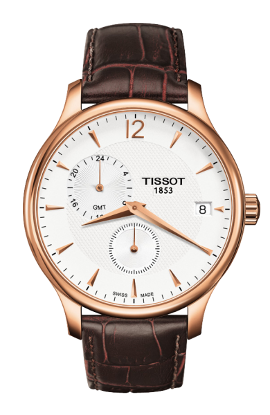 TISSOT Tradition GMT Herrenuhr T0636393603700
