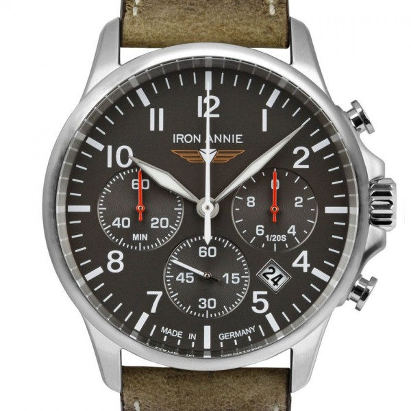 IRON ANNIE Chronograph Captain´s Line 5872-5