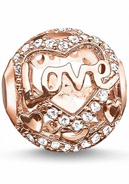 "Thomas Sabo Karma Bead ""Heart of love rosé"" K0176-416-14"