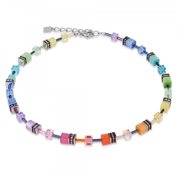 Geo Cube Collier multicolor soft 2838101542