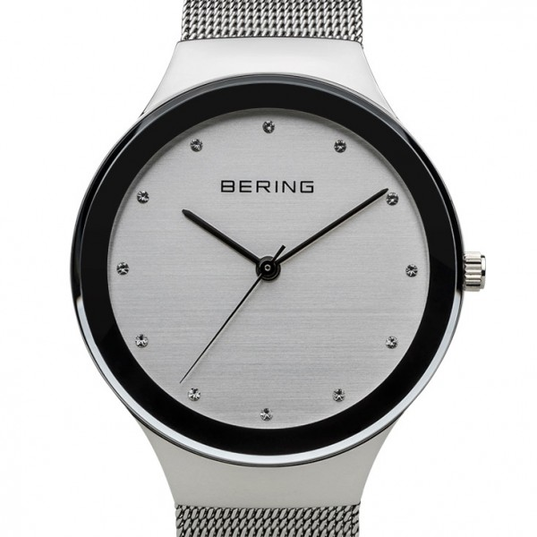 Bering Classic Silber glänzend Damenuhr 12934-000